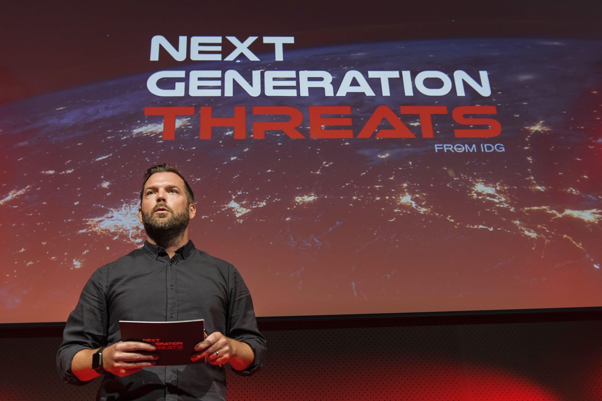 Magnus Aschan på Next Generation Threats